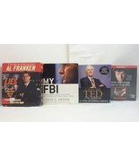 Lot of 4 Nonfiction Political Audio Books by Moore, Franken, Freeh, Turner - $16.05