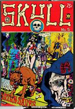 Skull #5, Last Gasp, 1972, Classic Underground Comix - obo - $14.25