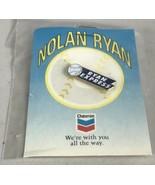 Nolan Ryan Ryan Express Chevron Hat Lapel Jacket Pin on Card NEW Texas R... - $8.85