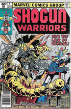 Shogun Warriors Comic Book #5, Marvel Comics 1979 VERY FINE - $6.43