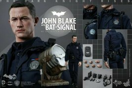 Hot Toys 1/6 Batman Dark Knight Rises JOHN BLAKE with Bat-Signal Figure - $374.25