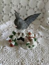 Lenox Dark Eyed Junco Porcelain Bird Figure 1991 - $24.24
