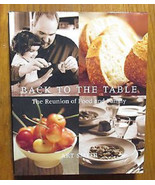 ART SMITH(Oprah Winfrey Chef) Signed  (BACK to the TABLE-2001 1st Edit H... - $18.69