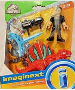 Imaginext Jurassic World Fallen Kingdom, Dr. Malcolm & Dimetrodon - $11.99