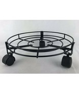 "Plant Metal Tray Wheels Indoor / Outdoor Home Tray 13"" - $9.50"