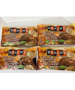 4 Thanksgiving Turkey Dinner Candy Corn 12 Oz Bag Limited Edition Brachs... - $51.28