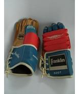 Vintage Franklin Featherlite Foam Padded 6207 Hockey Gloves Mello-Tanned... - $125.00