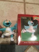 Sesame Street Heirloom Carlton Cards Rosita's Figure Eight Wishes Very Nice - $14.75