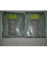 """Two J. C. Penney Home Energy Saving Drape Panel 54"""" By 84"""" Blue-Gray  - $18.55"""