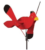 CARDINAL WIND SPINNER Amish Handmade Whirlybird Weather Resistant Whirli... - $98.40 CAD