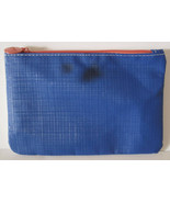 IPSY January 2015 Fresh Start Make Up Bag Cosmetic Case Blue White Coral - $2.17