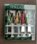 Set of 1999 Fancy Feet Shoes Boston Warehouse Spreaders butter toast muf... - $11.77