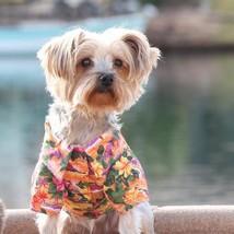 Hawaiian Camp Shirt - Sunset Hibiscus - $27.00