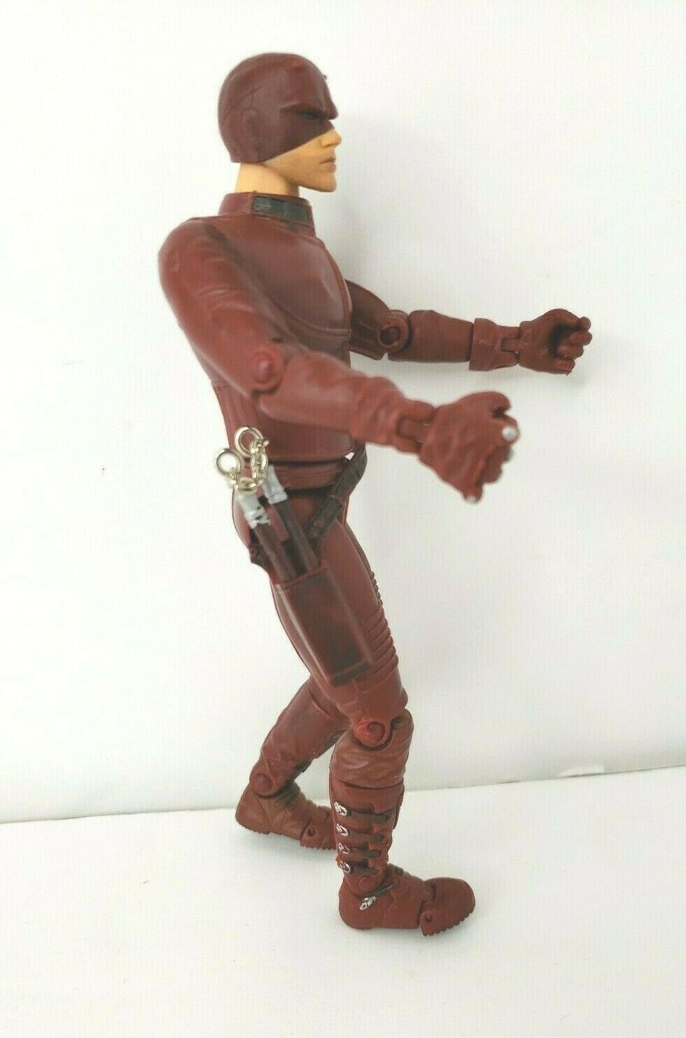"Daredevil Movie Action Figure 2002 Marvel 6"" Affleck with Nunchucks image 6"