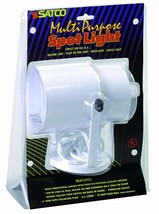 Satco Products SF77/395 Multi-Purpose Portable Spot Light, White - $22.77
