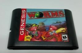 Worms - Turn Based Strategy Game - Sega Genesis - $19.80