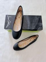 ✨New Sam Edelman Fritz Leather Ballet Flats Black Women Size 6M $110 Nib - $44.71