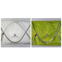 Eagle Creek Pack-It System Cubes Packing Travel Suitcase 2 Pack Green White - £20.75 GBP
