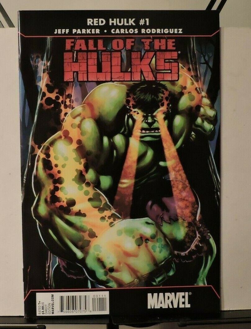 Fall Of The Hulks: Red Hulk #1 march 2010