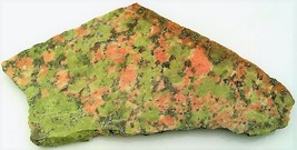 Unakite Jasper 2 Gemstone Slab Cabbing Rough - $4.60