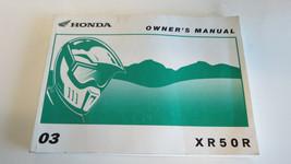 2003 Honda XR50R XR 50R Factory Owners Manual Book OEM - $16.82