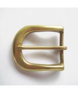 Pin Belt Buckle 40mm Solid Brass Pin Buckle BS001 Pin Belt Buckle Gürtel... - $9.89