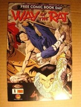 FREE COMIC BOOK DAY - WAY OF THE RAT 1 NEAR MINT - $1.00