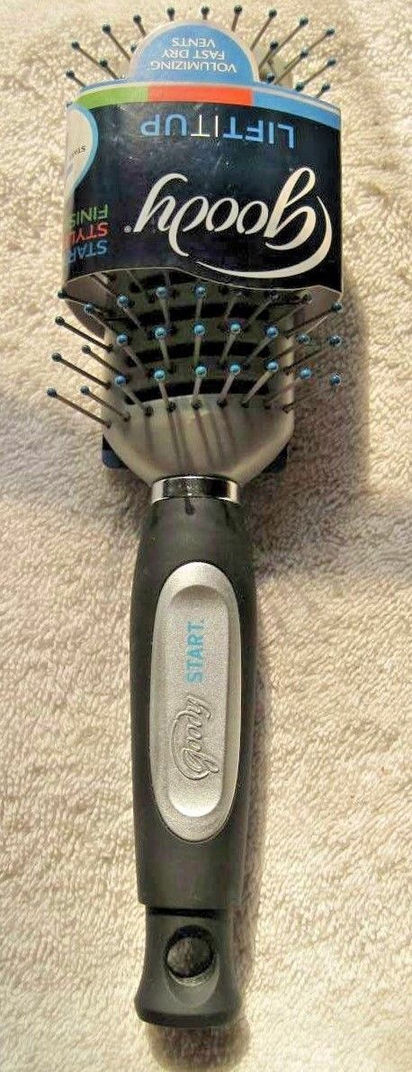 Goody Start Fast Dry Vented Hair Brush Volume Drying Vents Blow Dry Lift Basic