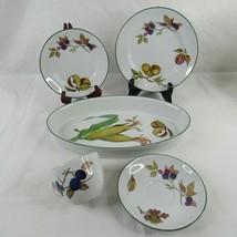 Royal Worcester Vale Plate Bowl Casserole Porcelain Cup Vintage Choice  - $9.85+