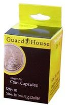Guardhouse Large Dollar 38.1mm Direct Fit Coin Capsules, 10 pack - $6.79