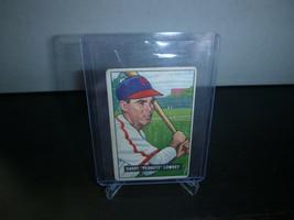 1951 Bowman Gum Baseball Card #194 Harry Lowrey Trading Card Good Condition - $8.90