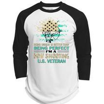 I'm A Bow Shooting Veteran T Shirt, Sport T Shirt  (Polyester Game Baseb... - $34.99+