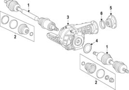 Genuine Mercedes-Benz Boot Kit 166-330-03-85 - $118.10
