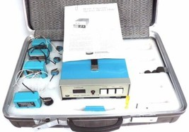 BENDIX MODEL 1100 NOISE EXPOSURE SYSTEM P/N 2416433-0001 W/ 2416432 MONITORS