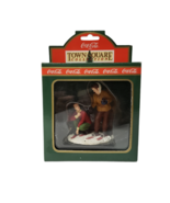 Coca Cola Town Square Collection Accessory Skiing Adventure Men on Skis ... - $12.99