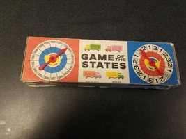 1960 Vintage Milton Bradley GAME OF THE STATES replacement pieces - $9.35