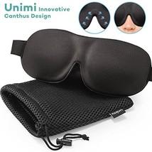 Unimi Sleep Mask for Woman and Man, Upgraded Contoured 3D Eye Mask Eye C... - $11.09