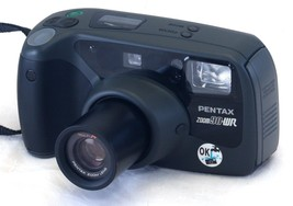 PENTAX Zoom 90WR Point & Shoot AF 35mm FILM Camera Weatherproof w Remote... - $33.30