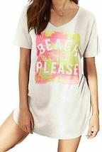 Victoria's Secret sz XS The Angel Sleep Tee, BEACH PLEASE - $24.26