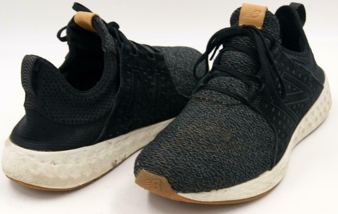 New Balance MCRUZOB Men's Black/Charcoal Gray Running Sneakers Sz 14 M Shoes
