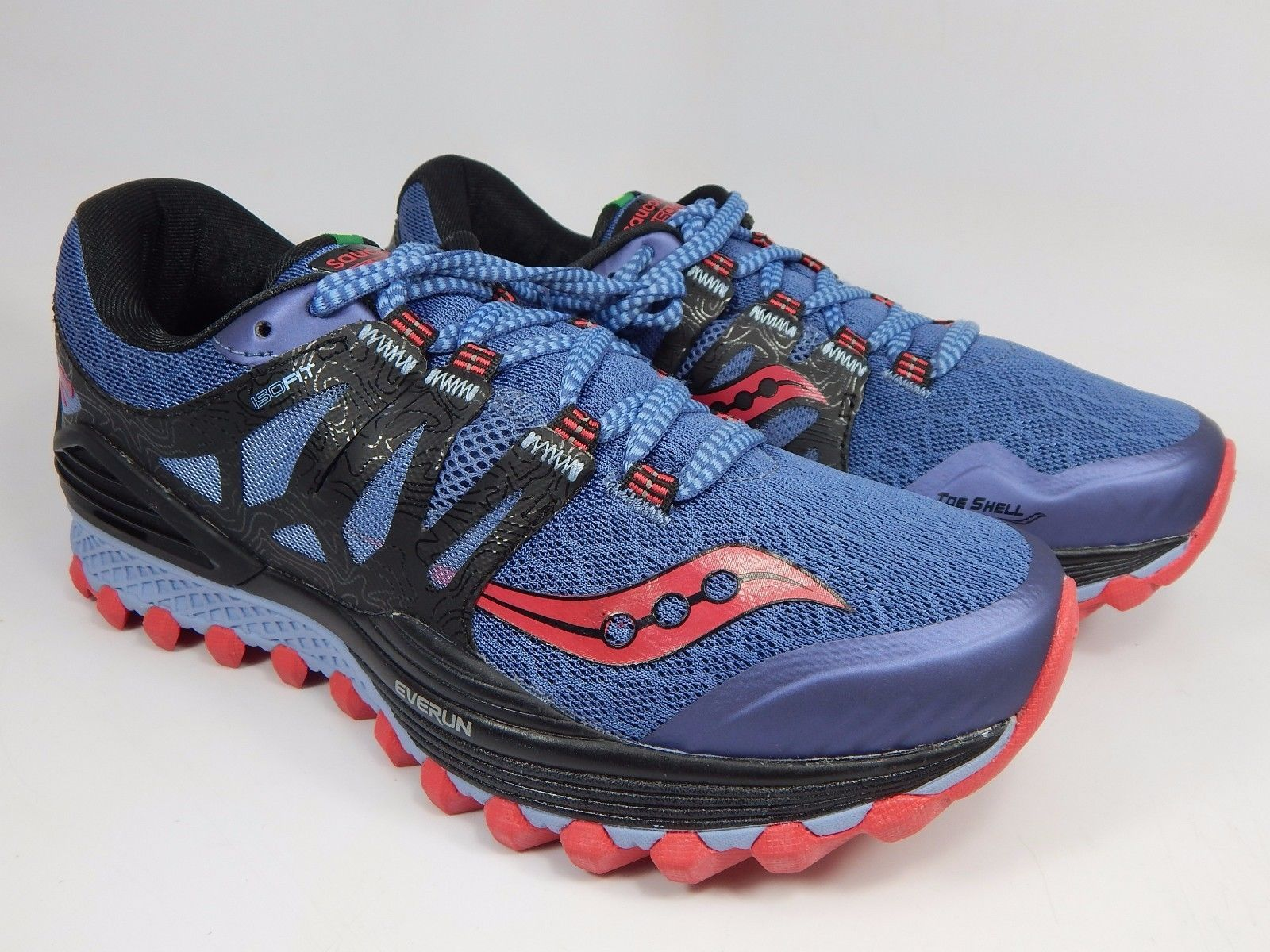 Saucony Xodus ISO Women's Trail Running Shoes Size US 8 M (B) EU 39 S10325-2