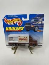 Vintage Hot Wheels Haulers Whoppers Truck Brown 1998 - $9.89