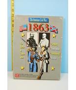 1863 The American Civil War - GMT Games 1991 Un... - $25.83