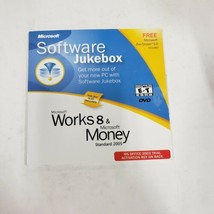 Microsoft Software Jukebox Works 8 Money 2005 CD Office S & T Edition 20... - $12.86