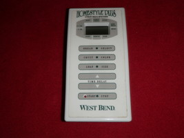 West Bend Bread Machine Control Panel for Model 41086 - $28.04
