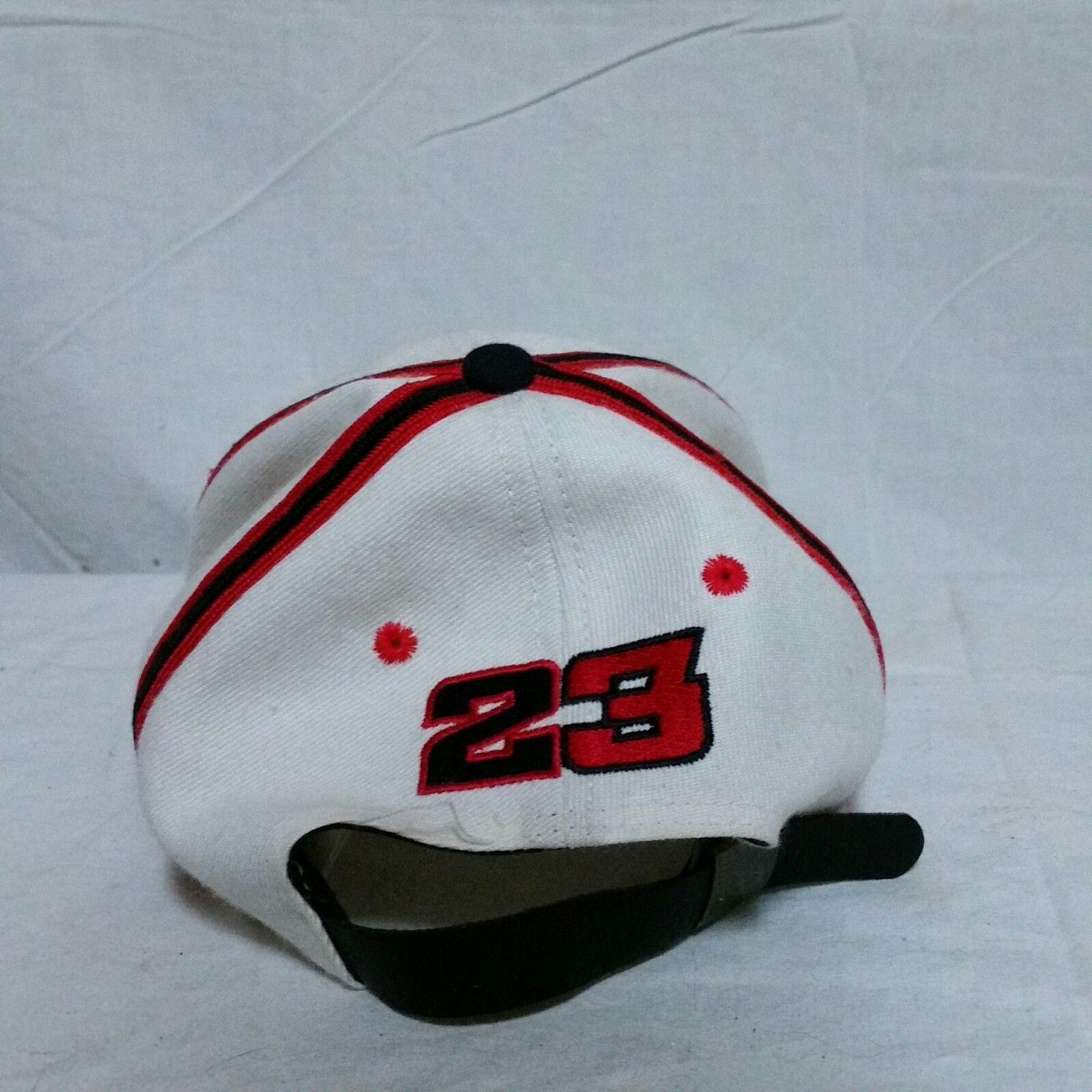 VTG Nike Air Michael Jordan Leather Strapback Hat Cap 90s Retro NBA Basketball