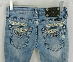 Girls' Miss Me Size 10 Capri Jeans Light Wash Denim JK5330P3 - $29.69