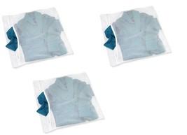 3 pack XL Large Zippered Mesh Washing Machine Bag Intimates Socks Lingerie - $8.88