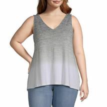 a.n.a. Women's V Neck Sleeveless Tie Dye Tank Top Shirt X-SMALL Avacado ... - $19.79