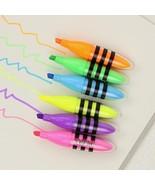XUES® 6PCS/Pack Cute Bee Mini Highlighter Pen 6 Colors Highlighters School - $2.30
